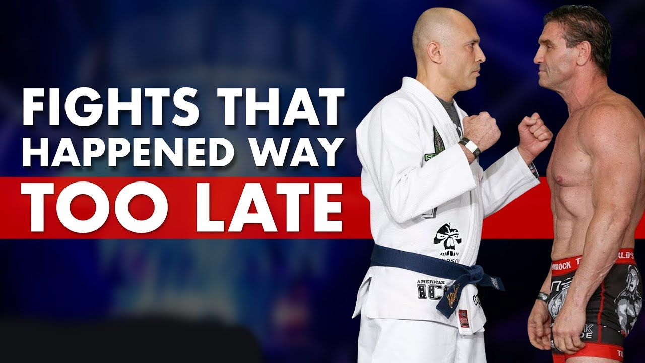 10 Big Fights That Happened Way Too Late